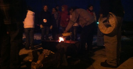 Bonfire-at-rally