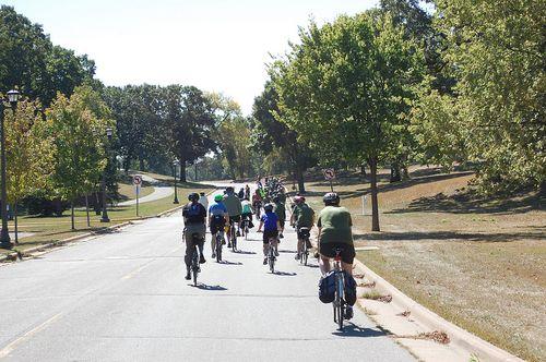 MN bike tour path