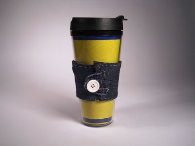 DIY coffee koozie