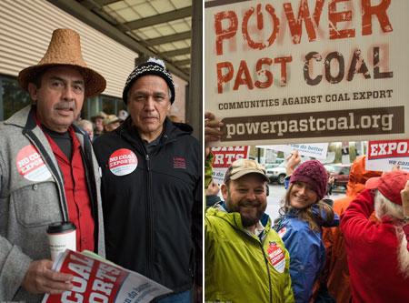 Coal-export-terminal-rally