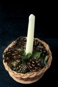 Festive candleholder