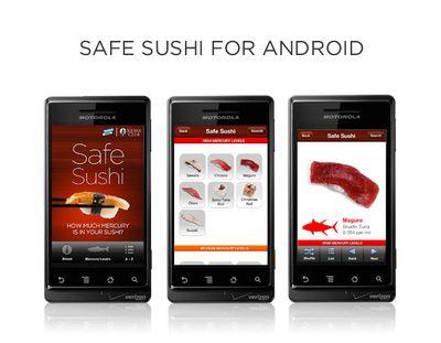 Safe sushi app