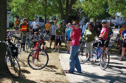 MN bike tour stop