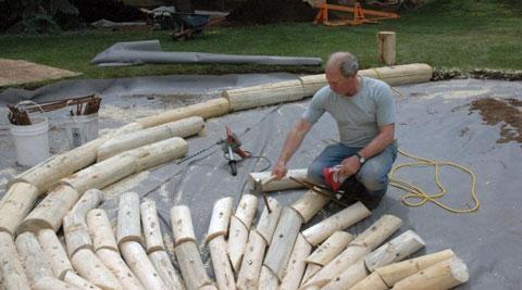 Drury-installing-sculpture