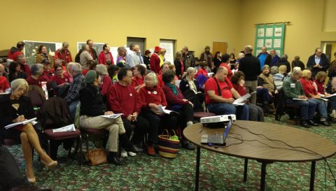 FERC Hearing-Warrenton Oregon-October 15 2012