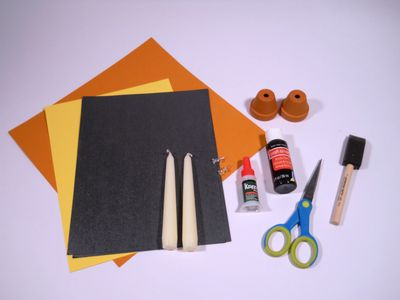 Supplies for candlestick holders