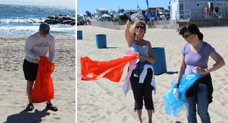 Belmar-beach-cleanup