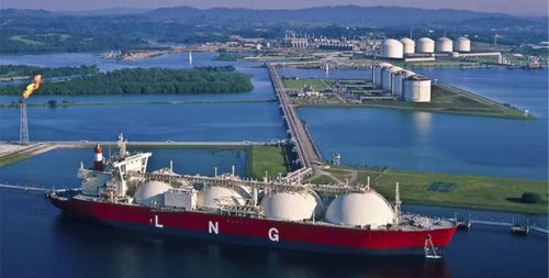 LNG stock photo