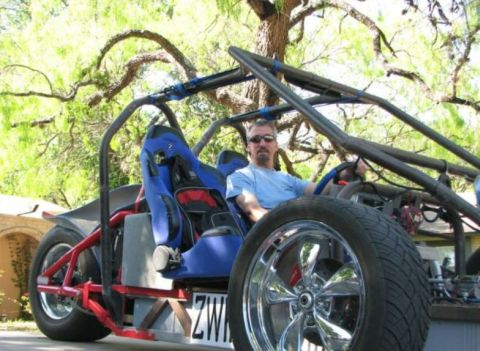 This Sierra Clubbers DIY Car
