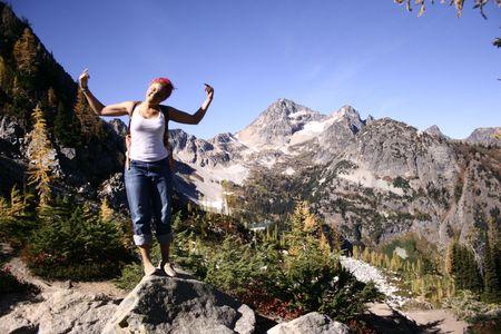 Expedition Denali team member Rosemary Saal