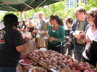 Talking farmers market