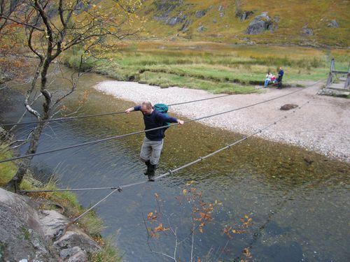 Wire rope bridge scariest bridges