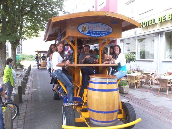 Wacky bikes Fietscafe