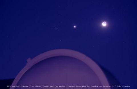 July 2013 MoonVenusM44Beehive091212_ChumackHRweb