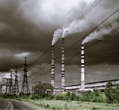 Ukrainian coal plant