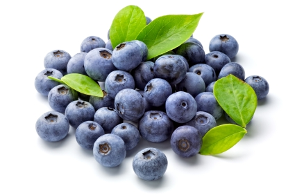 Pick-me-up natural energy booster food blueberries