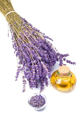 Lavendar and Oil
