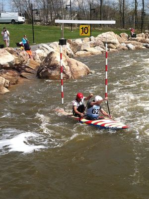 Casey C2 2013 slalom team trials
