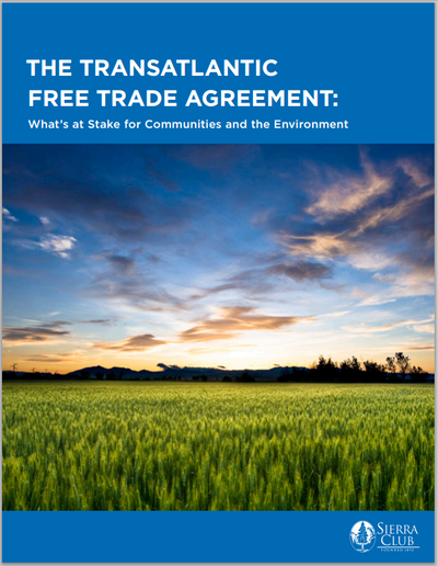 TTIP Report Cover