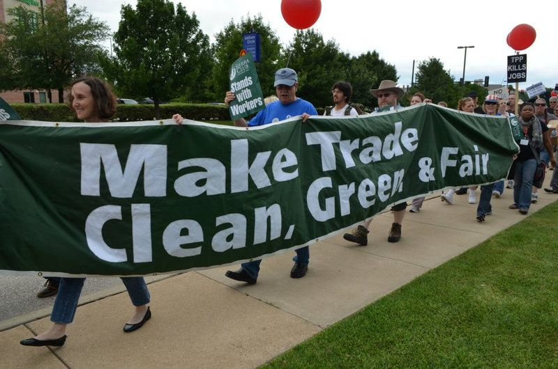 Green trade rally