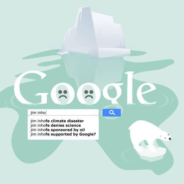 Google and inhofe