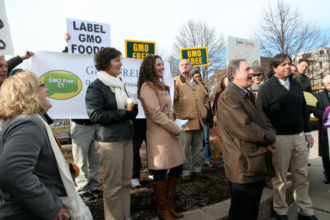 Connecticut-GMO-rally