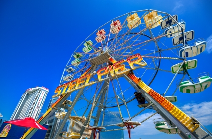 Atlantic city ferris wheel