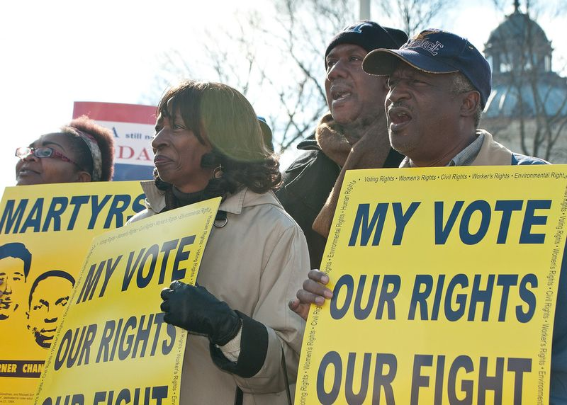 Voting Rights act credit SEIU