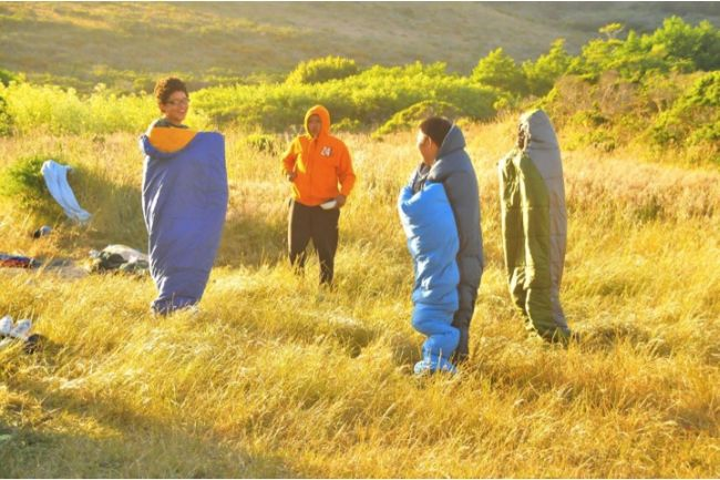 Pt reyes sleeping bags