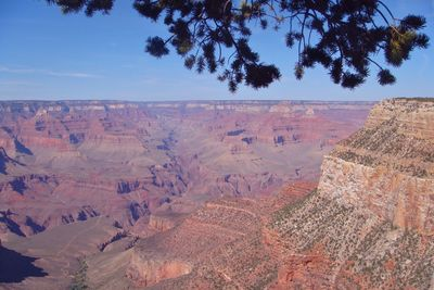Manning views the Colorado river nestled in the depths of the Grand Canyon