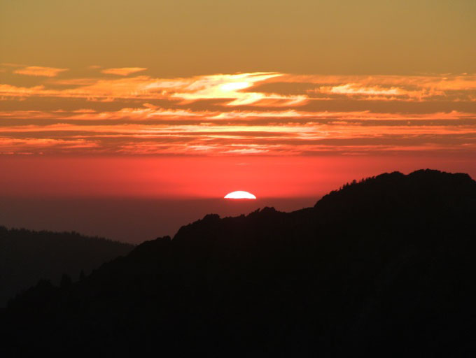 Sunset-in-Sequoia