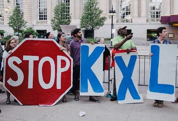 Kxl protest