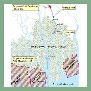 Sandarbans Map