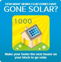 Go solar with the Sierra Club
