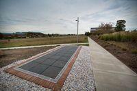 George Washington University's brand new solar sidewalk