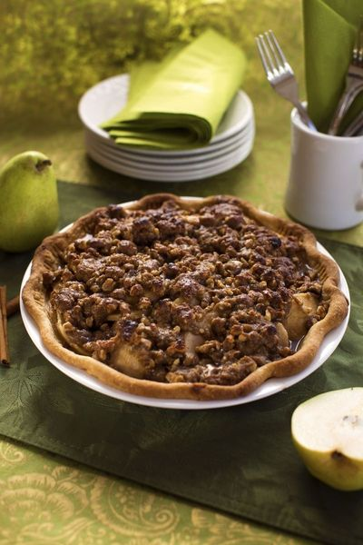 Pear Praline Pie