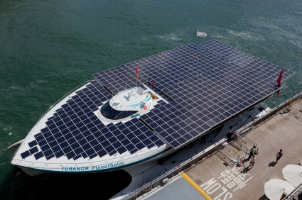 Planet Solar is the largest solar powered boat