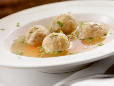 Matzah ball soup recipe