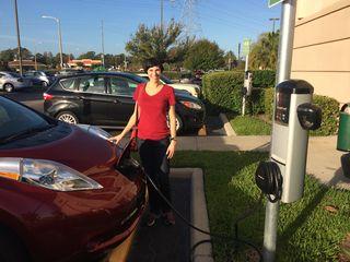 Gina_charging_Leaf_Florida_Dec2013