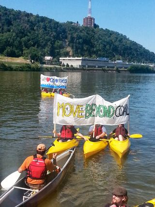 Pittsburgh beyond coal kayak
