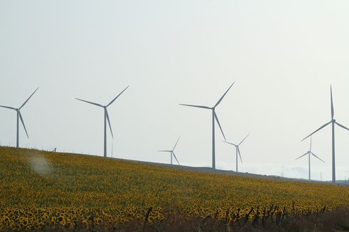 Wind farm in Southern Spain