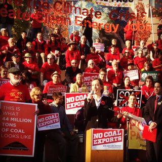 Mary anne hitt coal export rally