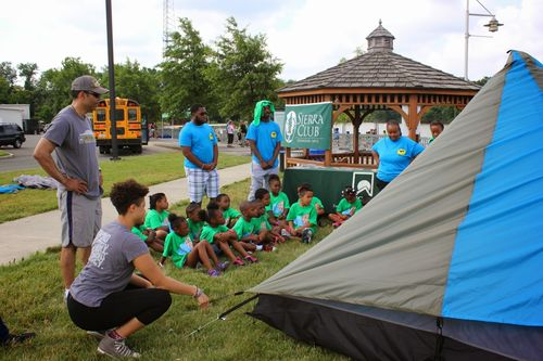 GOA week tent