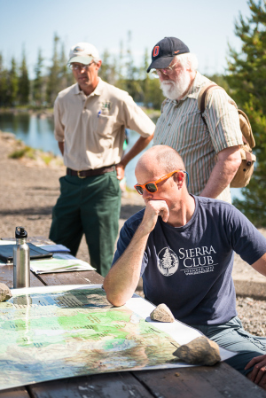 Brune looking at Waldo Lake plans