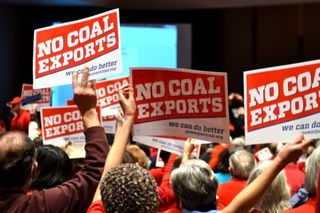 Coal export hearing5