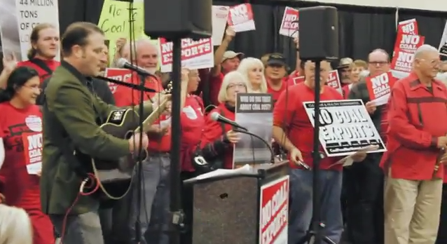 No-Coal-Exports-rally