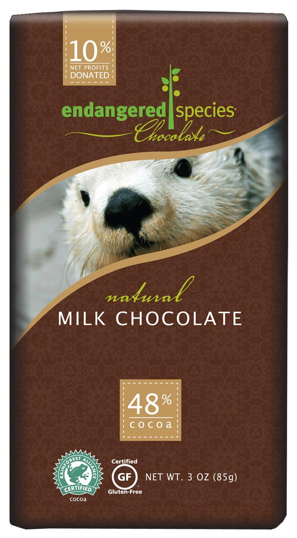Endangered Species Chocolate, milk chocolate