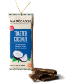 Madecasse Chocolate, toasted coconut