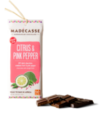 Madecasse Chocolate, citrus and pink pepper