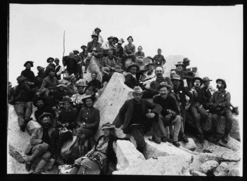 Mt Brewer 1902